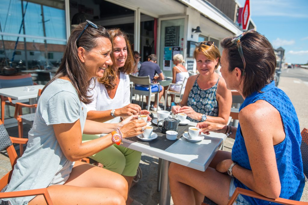 Prenez une pause en terrasse sur l'Ile de Noirmoutier