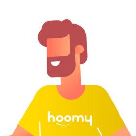 Membre de l'équipe hoomy (garçon)