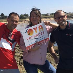 Conciergerie Ile d'Yeu avec Laurie, Fabrice et Pascal