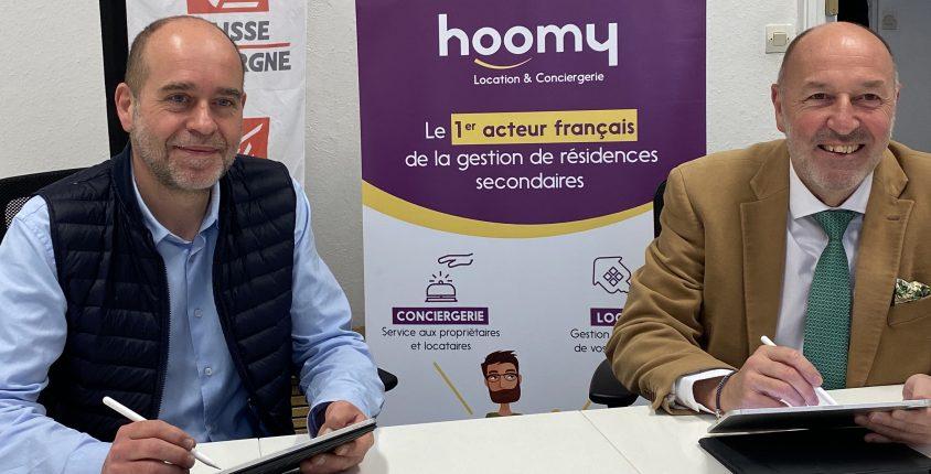hoomy et la CEBPl s'associe pour les propriétaires de la résidence secondaire
